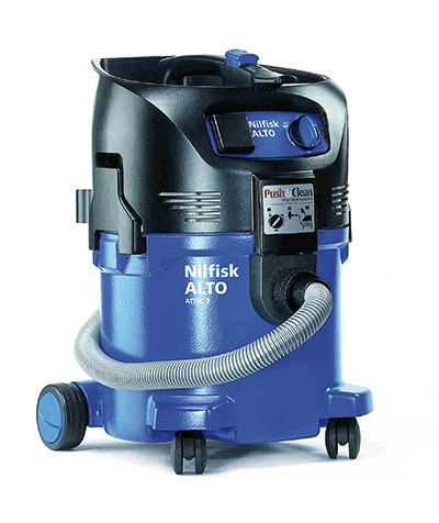 nilfisk alto attix 30 21 pc 240 110v wet dry vacuum cleaner. Black Bedroom Furniture Sets. Home Design Ideas