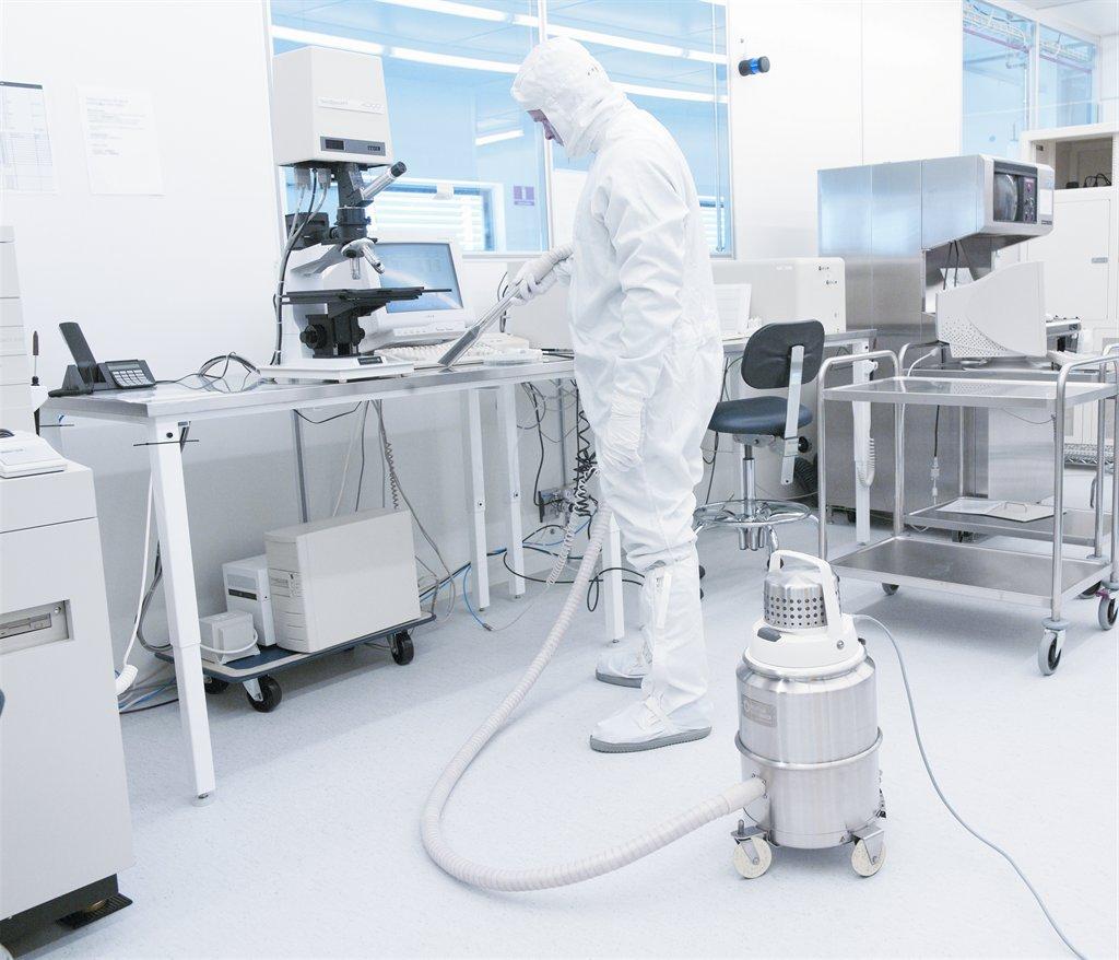 Nilfisk Cfm Ivt 1000cr Cleanroom Vacuum