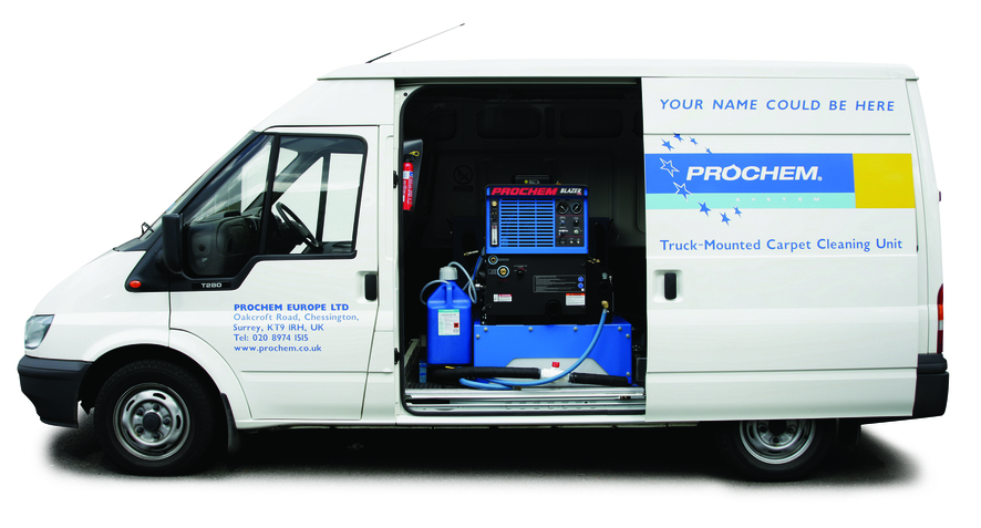 Prochem Everest Dual Operator Van Mount