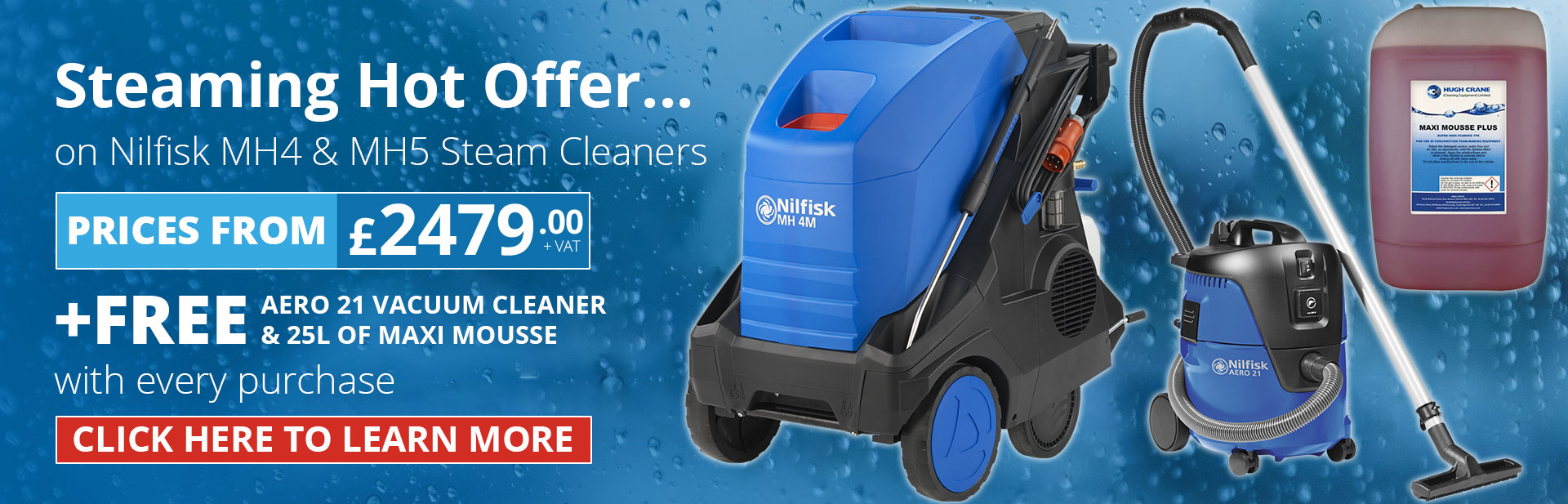 Nilfisk Hot Pressure Washer Offer