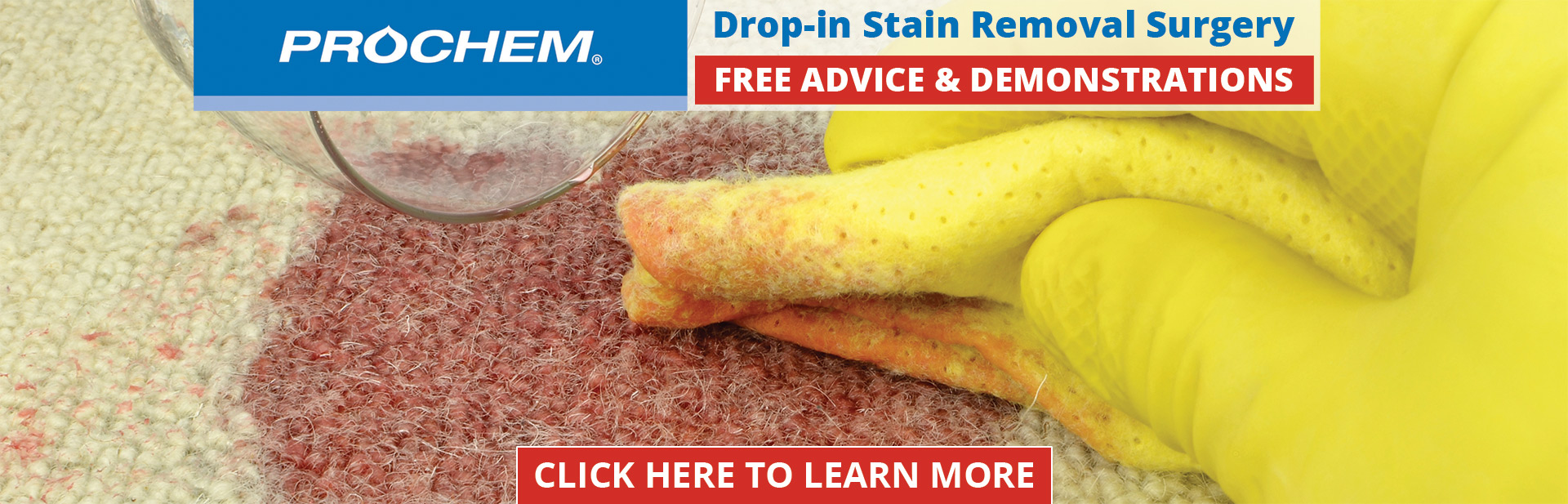 Drop-in Stain Removal Surgery