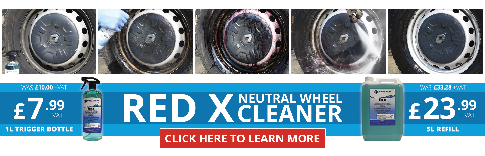 Red X Neutral Wheel Cleaner