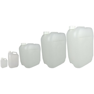 Transparent Chemical Drums