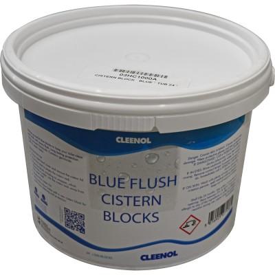 Blue Flush Cistern Blocks