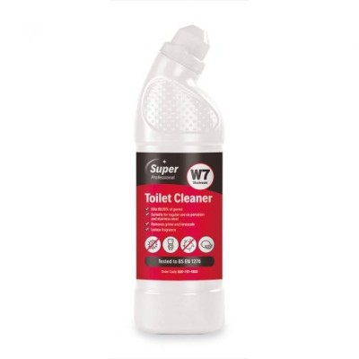 Super Professional W7 Toilet Cleaner 750ml