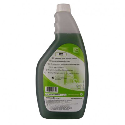 Diversey Room Care R2 Hard Surface Cleaner 0.75ml