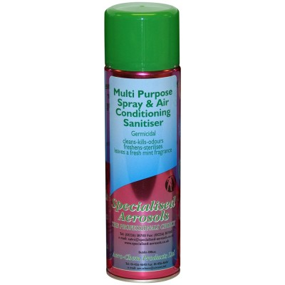 Specialised Aerosol Multi Purpose Sanitiser 500ml