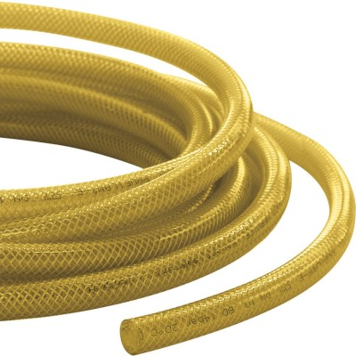 Yellow Low Pressure Braided Hose
