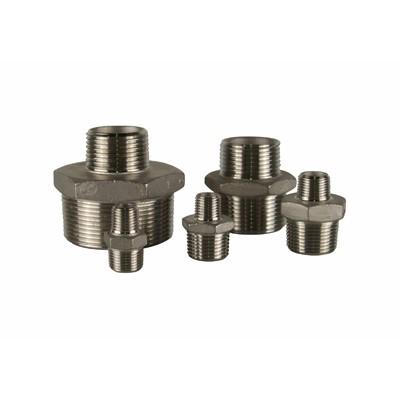 Stainless Steel Hexagonal Reducing Nipple