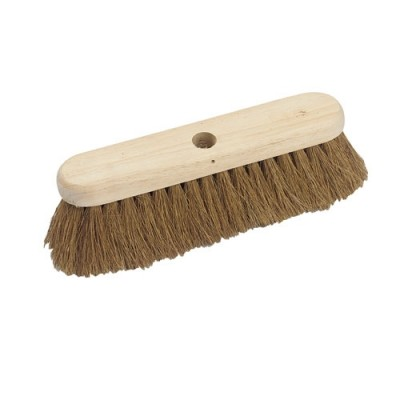 Soft Natural Coco Platform Broom Head