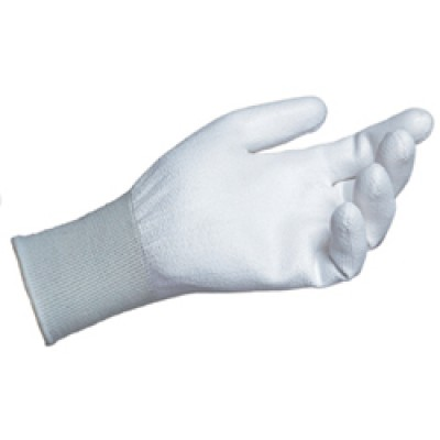 White Palm Coated Gloves