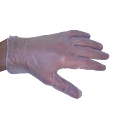 Powder Free Clear Vinyl Gloves