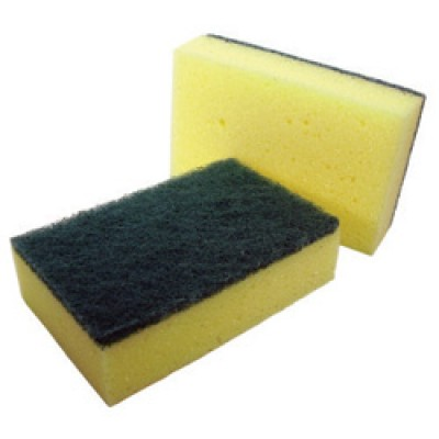 Sponged Backed Scouring Pad