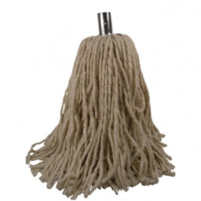 A Pure Yarn Socket Mop 14oz PY Metal