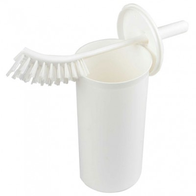 Toilet Brush & Enclosed Holder