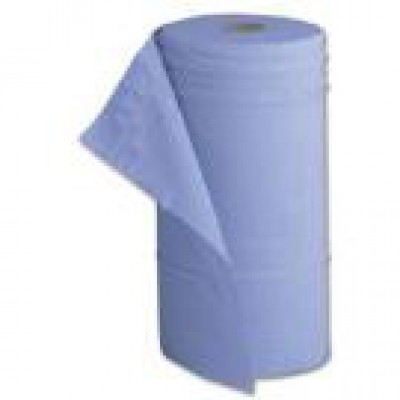 Paper Couch Roll Blue 3ply 50cm wide
