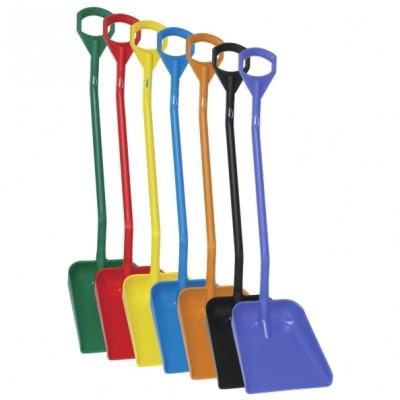 Vikan Ergonomic Shovel - Long Handle - Large Blade