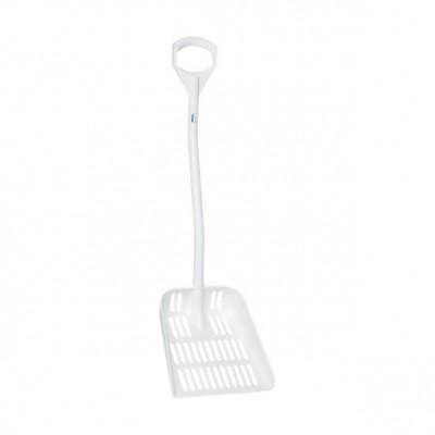 Vikan Ergonomic Shovel with Drain Holes