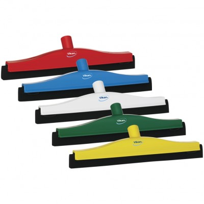 Vikan Floor Squeegee with Replacement Cassette, 400mm
