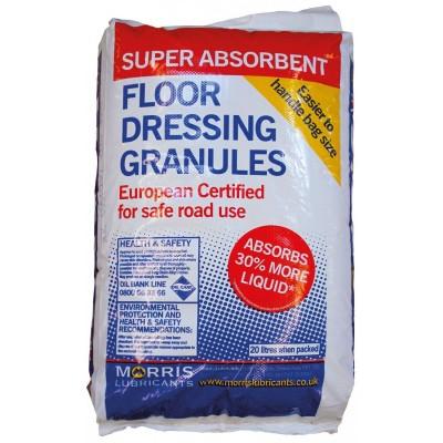 Absorbent Floor Dressing Granules 20L