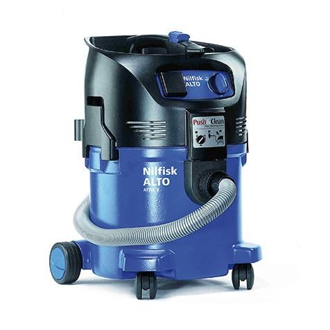 nilfisk attix 30 21 pc 240 110v wet dry vacuum cleaner. Black Bedroom Furniture Sets. Home Design Ideas