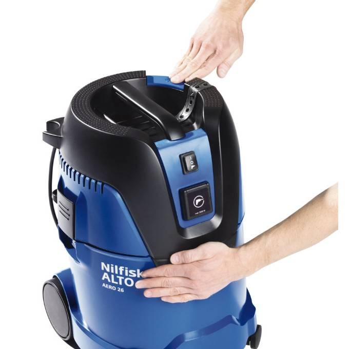 Nilfisk Aero 26 21 Pc 240v 110v Vacuum Cleaner Hugh