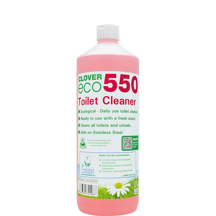 Clover Eco 550 Toilet Cleaner 1L