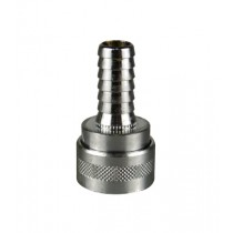 "Nito Low Pressure 1/2"" Coupling Female x 1/2"" Hosetail"