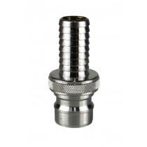 "Nito Low Pressure 1"" Nipple x 3/4"" Hosetail"