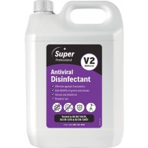 Super Professional V2 Antiviral Disinfectant 5L