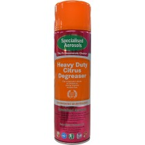 Specialised Aerosols Citrus Degreaser