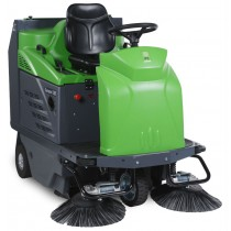 IPC Gansow 1280DP Ride-On Sweeper