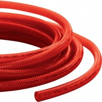 Red Low Pressure Braided Hose