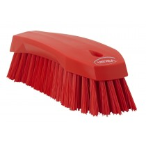 Vikan Stiff Hand Scrub Brush  185mm Red
