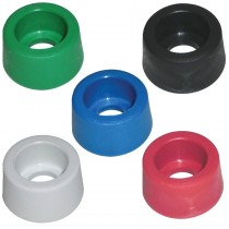"Colour Coded 1/4""M Nozzle Protectors"
