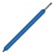 """Stainless Steel Black Insulated Lance Tube 1/4"""" 350mm"""