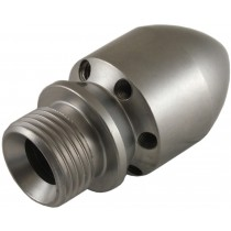 Male Cylinder Style Open Sewer Nozzle 1/2""