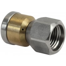 "Blind Rotating Drain Nozzle 1/4""F"