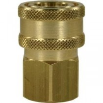 "Brass Quick Release Coupling 3/8""F"