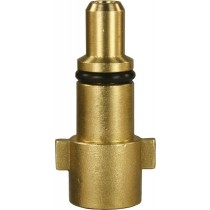 "Kew Brass Bayonet Plug 1/4""F"