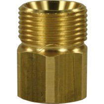 Quick Screw Brass Adaptor M22M to M22F