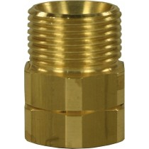 Brass Quick Screw Nipple Adaptor