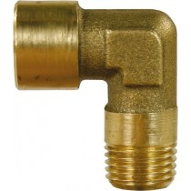 Brass F/M Elbow 1/4""