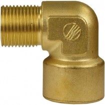 Brass M/F Elbow