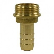 "Brass 19mm Hosetail 3/4"" Male Thread"
