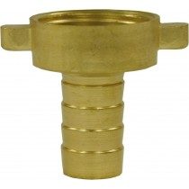 "Hose Tail Brass 13mm - 3/4"" F"