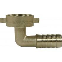 Brass 90° Hosetail