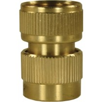 "Brass Coupling 3/4"" F"