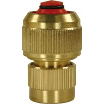 Brass Coupling with NRV 1/2""
