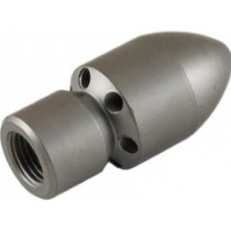 Female Cylinder Style Blind Sewer Nozzle 1/4""
